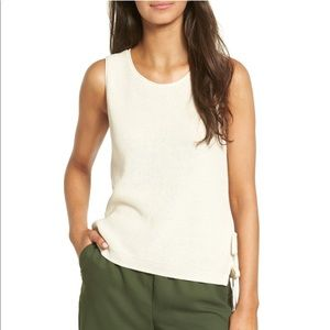 Madewell Side Tie Sweater Tank